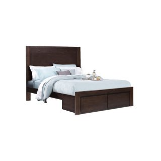 Greenhill - King Bed with Drawers (New)