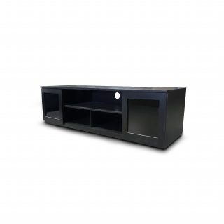 Bridport Home Theater TV Unit 2.2m - Black