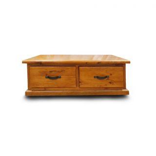 american rustic coffee table