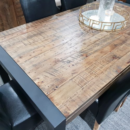 Barmera Dining Table 2.1m x 1.05m (Dark)