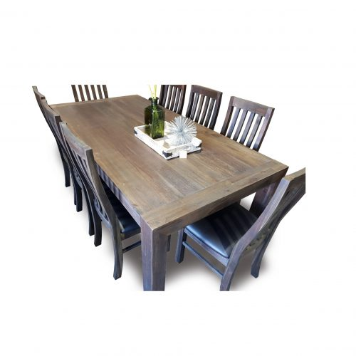 Bistre 9 Piece Dining Suite
