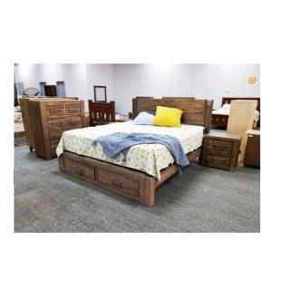 Empire Ash Grey King Bedroom Suite