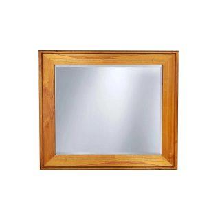 New Age Teak Mirror