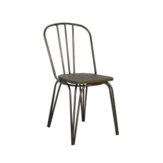 Federation Steel & Wood Chair