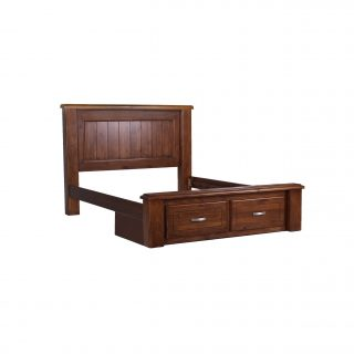 Orlando Panel Bed With Drawers