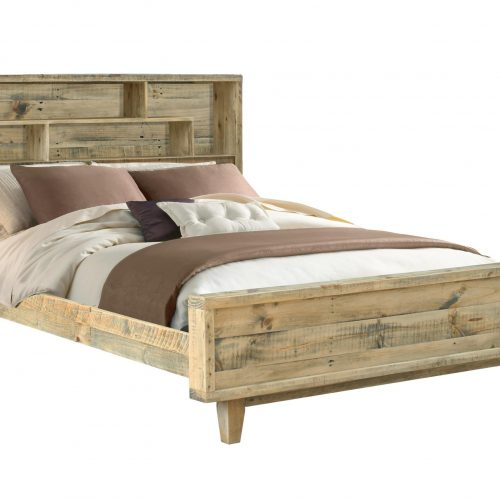 Latrobe King Bed with Bookshelf Headboard