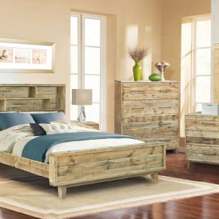 Latrobe King Bedroom Suite With Bookshelf Head Board