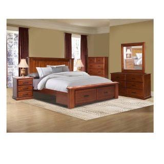 Victoria Panel Bedroom Suite