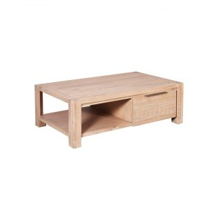 Bel-Air Open Coffee Table with Drawer