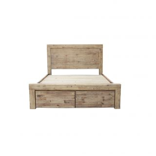 Anatto King Bed With Drawers