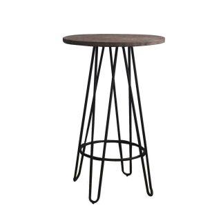 Wood Top Tall Pub Table - Bar Table