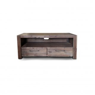 bistre small tv unit