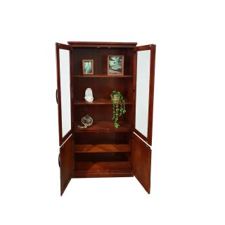 Victoria Display Cabinet Open